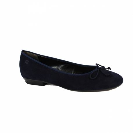 Paul Green dames ballerina's blauw 3102-429